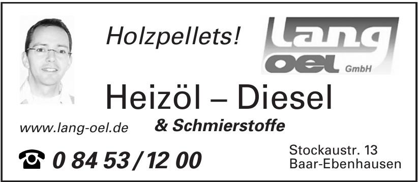 Heizöl − Diesel & Schmierstoffe
