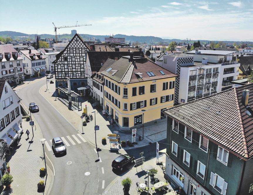 Das neue Büro in Tettnang liegt zentral am Bärenplatz. Foto: Helga-Agentur