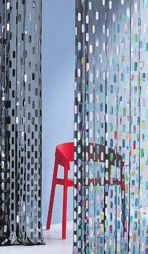 Bei der Kollektion «Joy of Life» von Création Baumann treffen kraftvolle und sanfte Textilien aufeinander. Sie stehen für die Lebensfreude und bilden eine Antwort auf die gegenwärtig turbulente Zeit. Bild: Création Baumann