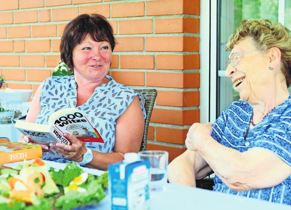 Sorgen auch für Kurzweil: die Senioren-Assistenten. Foto: z/Sebastian Haerter