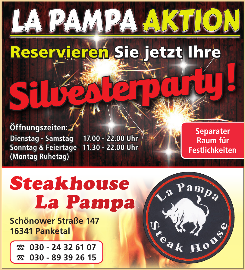 Steakhouse La Pampa