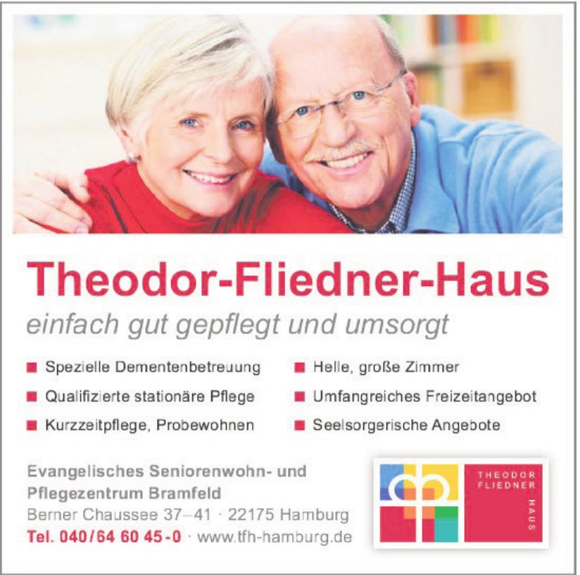 Evangelisches Seniorenwohn- und Pflegezentrum Bramfeld - Theodor-Fliedner-Haus