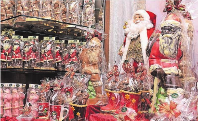 Die Liste der weihnachtlichen Köstlichkeiten lässt keine Wünsche offen.