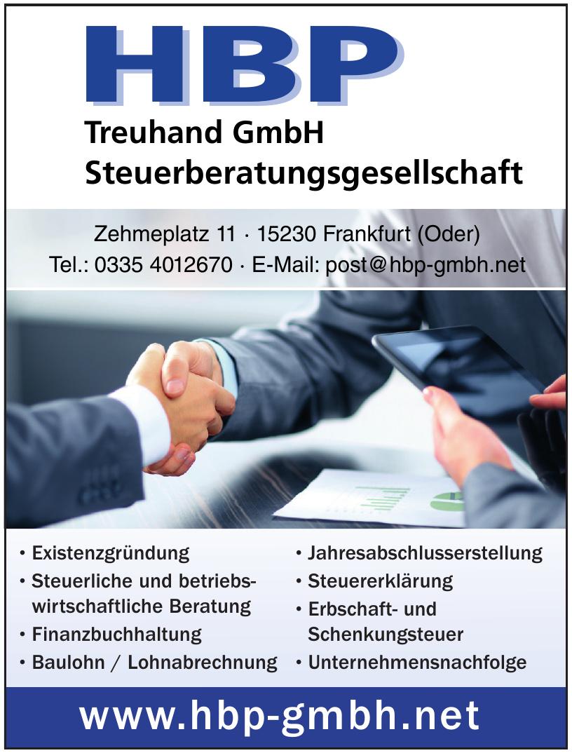 HBP Treuhand GmbH Steuerberatungsgesellschaft