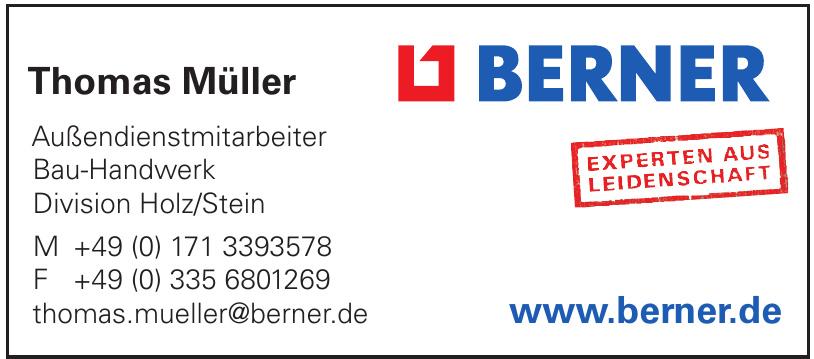 Berner - Thomas Müller