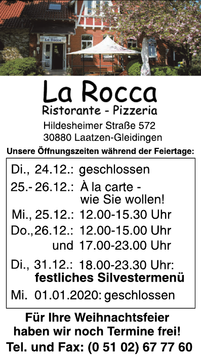 La Rocca Ristorante-Pizzeria