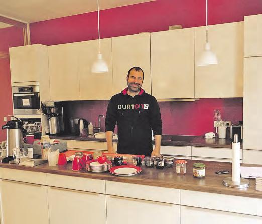 Marc Bratic, Koch und Hauswirtschafter, tut alles, um die Gäste zu verwöhnen