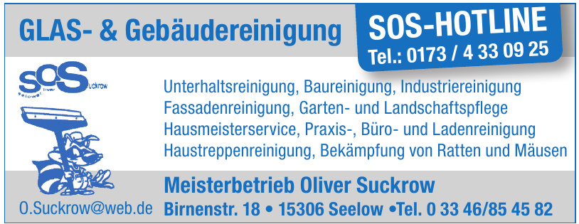 Meisterbetrieb Oliver Suckrow