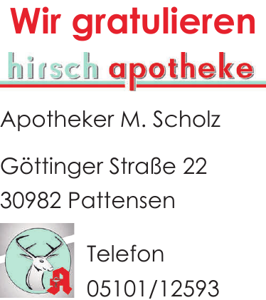 Apotheker M. Scholz
