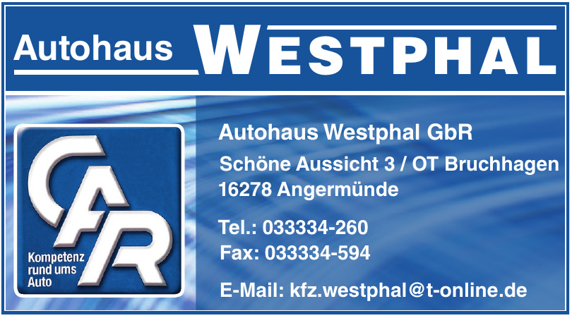 Autohaus Westphal GbR