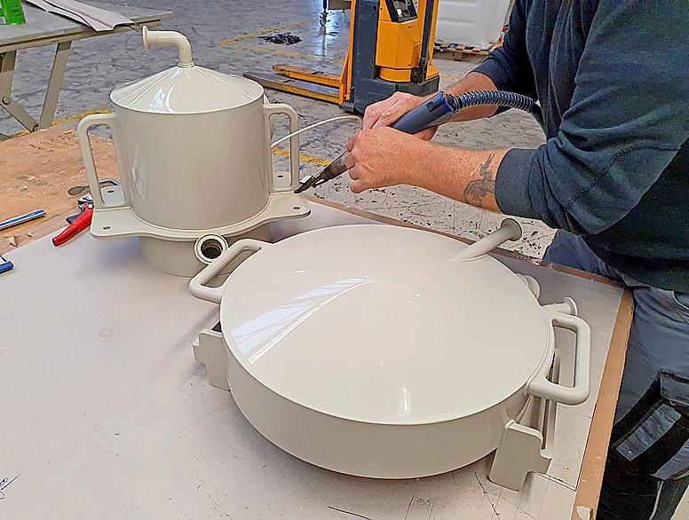 Spezialanfertigungen werden genau nach den Wünschen der Kunden gefertigt.