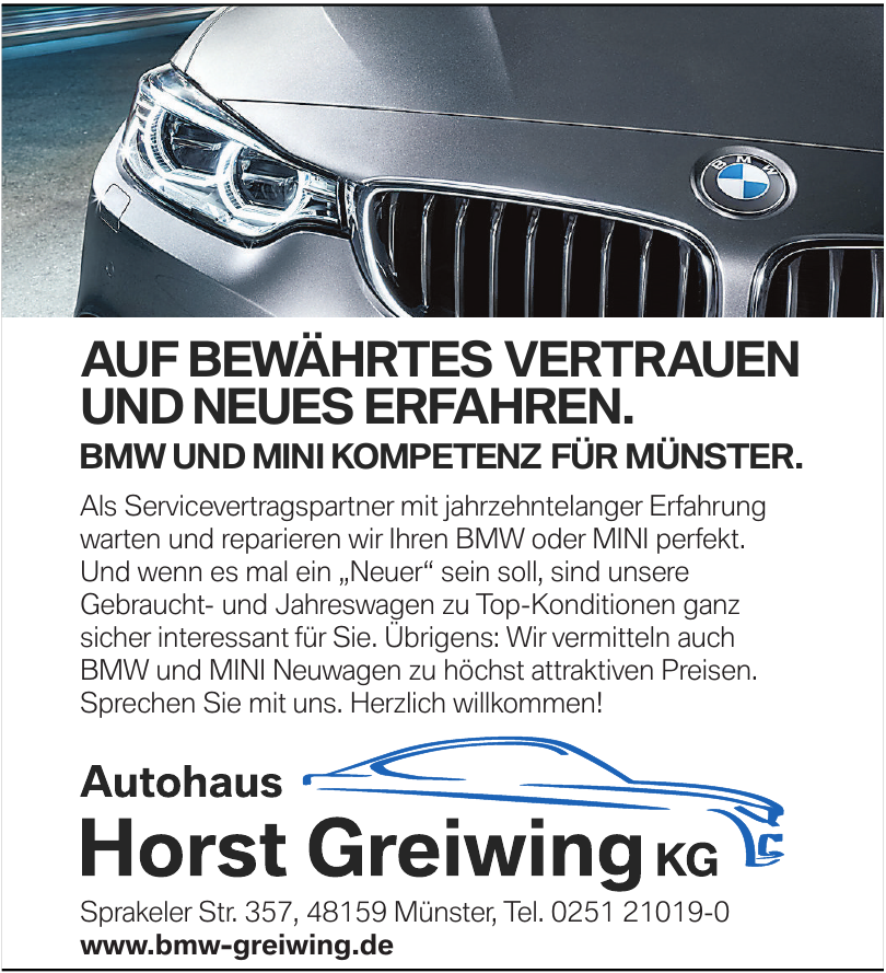 Autohaus Horst Greiwing KG