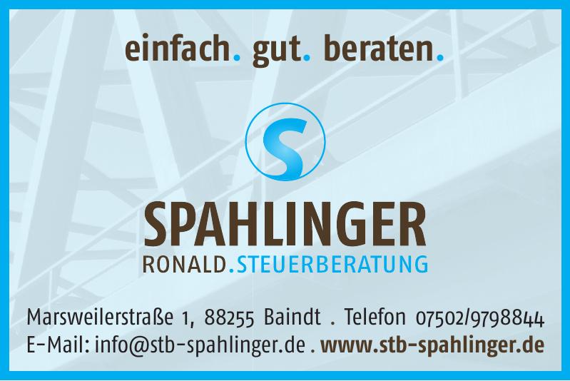 Spahlinger Ronald Steuerberatung