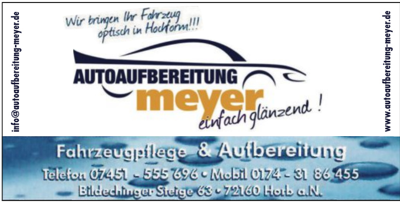 Autoaufbereitung Meyer