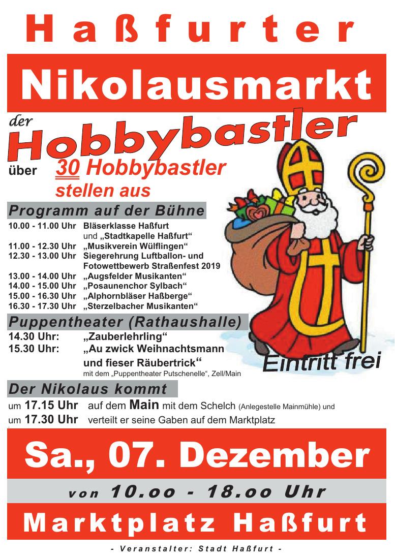 Haßfurter Nikolausmarkt der Hobbybastler