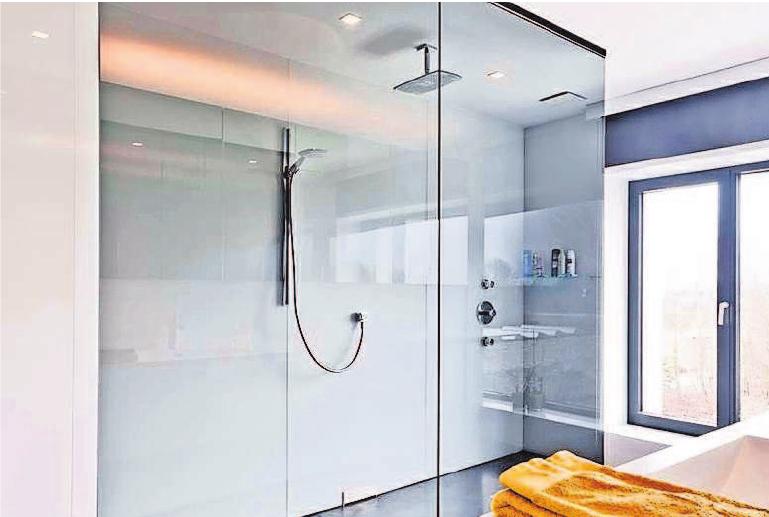 Ästhetisch und hygienisch eine saubere Lösung: Ganzglasduschen vereinen viele Vorteile in sich. djd/Uniglas/Ceyssens