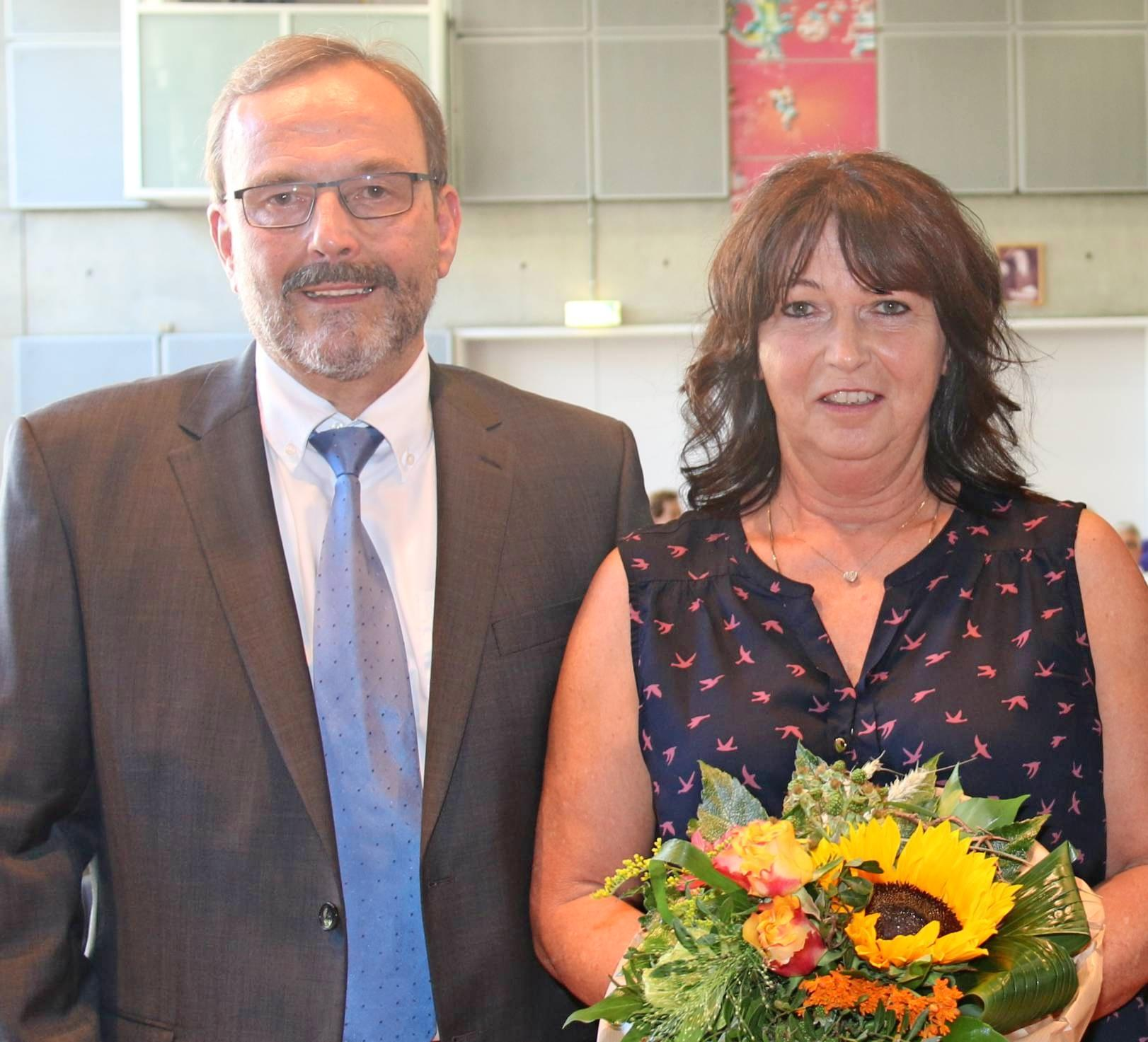Dahenfelds Ortsvorsteher Johann Habla mit Ehefrau Martina. Foto: snp