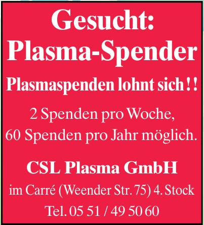 GSL Plasma GmbH