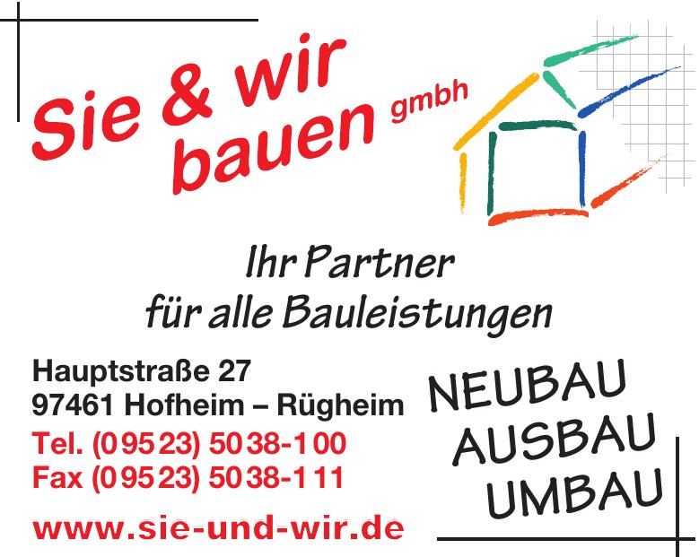 Sie & wir bauen GmbH