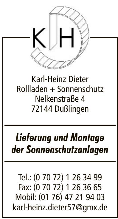 Karl-Heinz Dieter Rollladen + Sonnenschutz