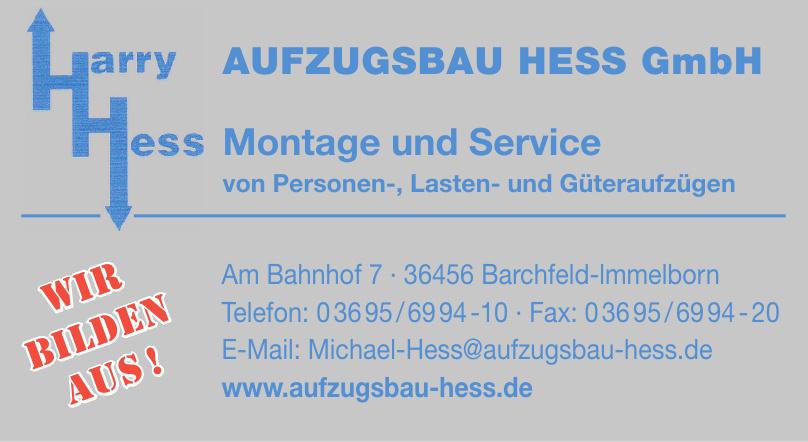 Harry Hess Aufzugsbau Hess GbmH