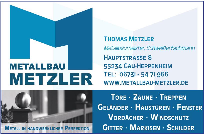 Metallbau Metzler