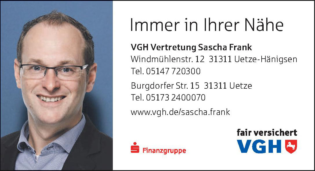 VGH Vertretung Sascha Frank
