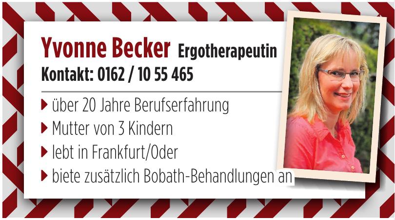 Yvonne Becker Ergotherapeutin