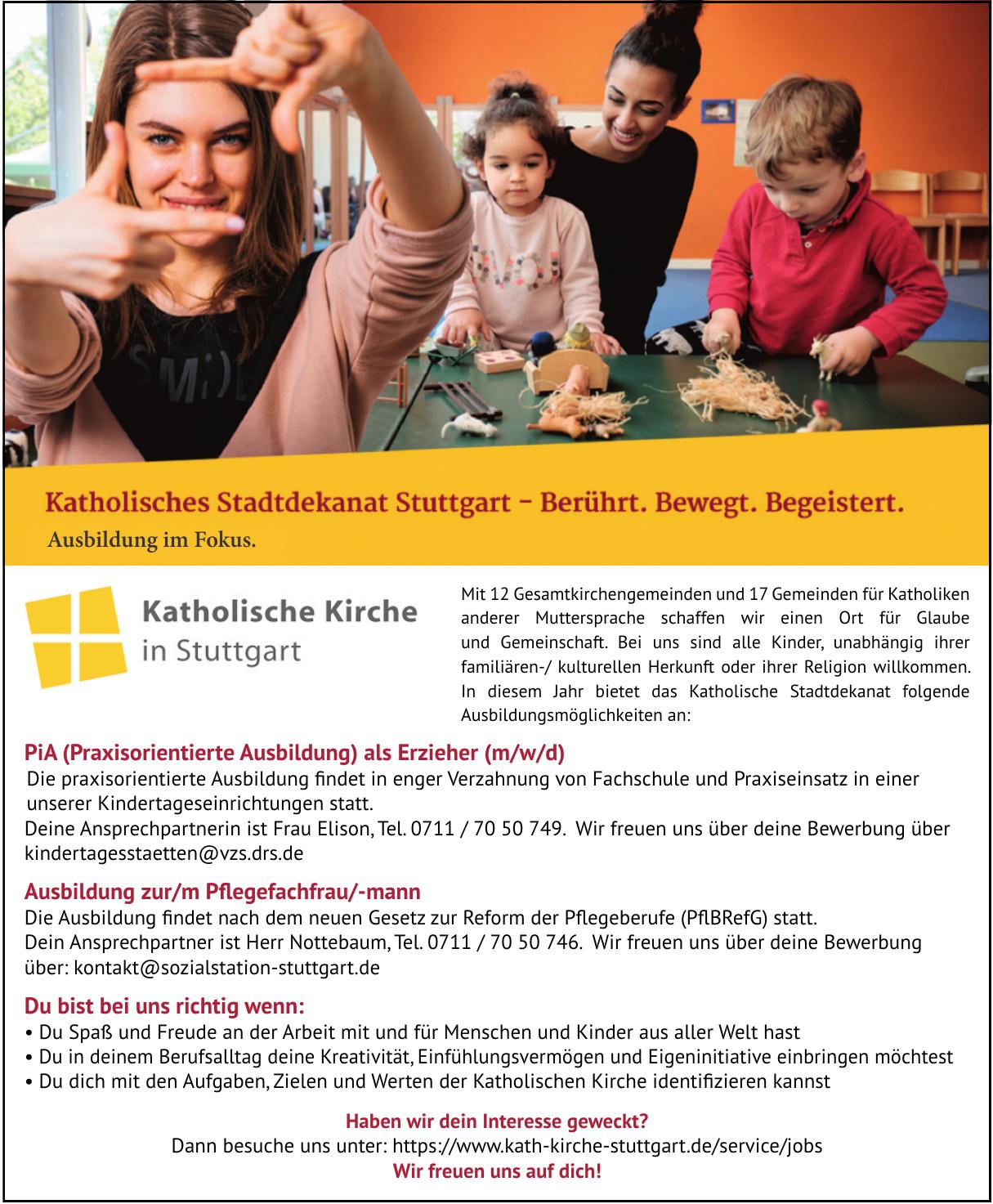 Katholisches Stadtdekanat Stuttgart