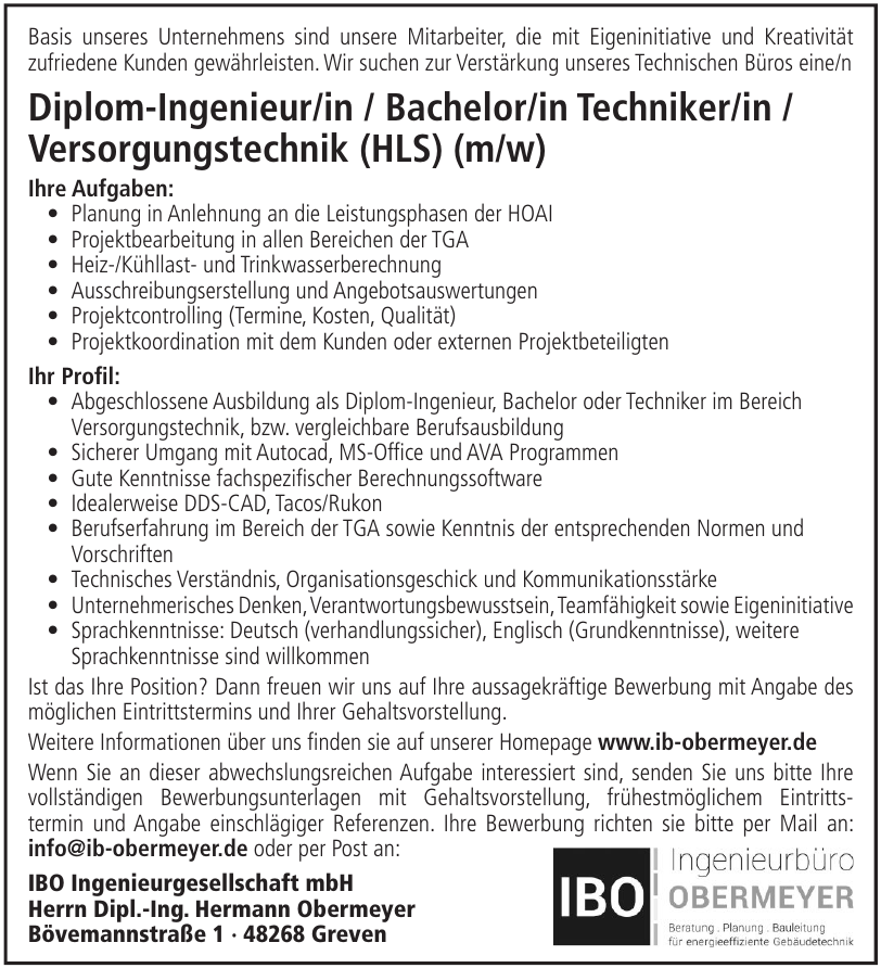 IBO Ingenieurgesellschaft mbH