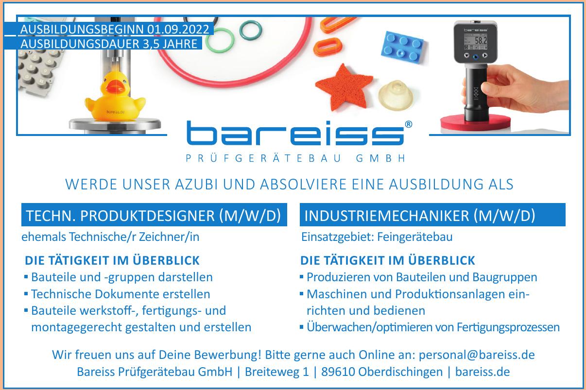 Bareiss Prüfgerätebau GmbH