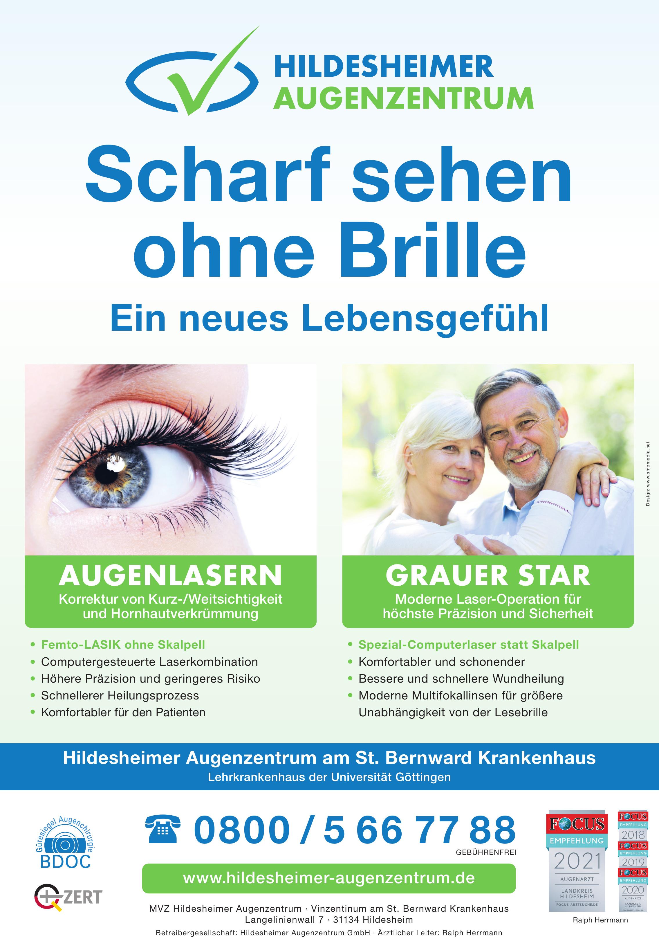 MVZ Hildesheimer Augenzentrum - Vinzentinum am St. Bernward Krankenhaus