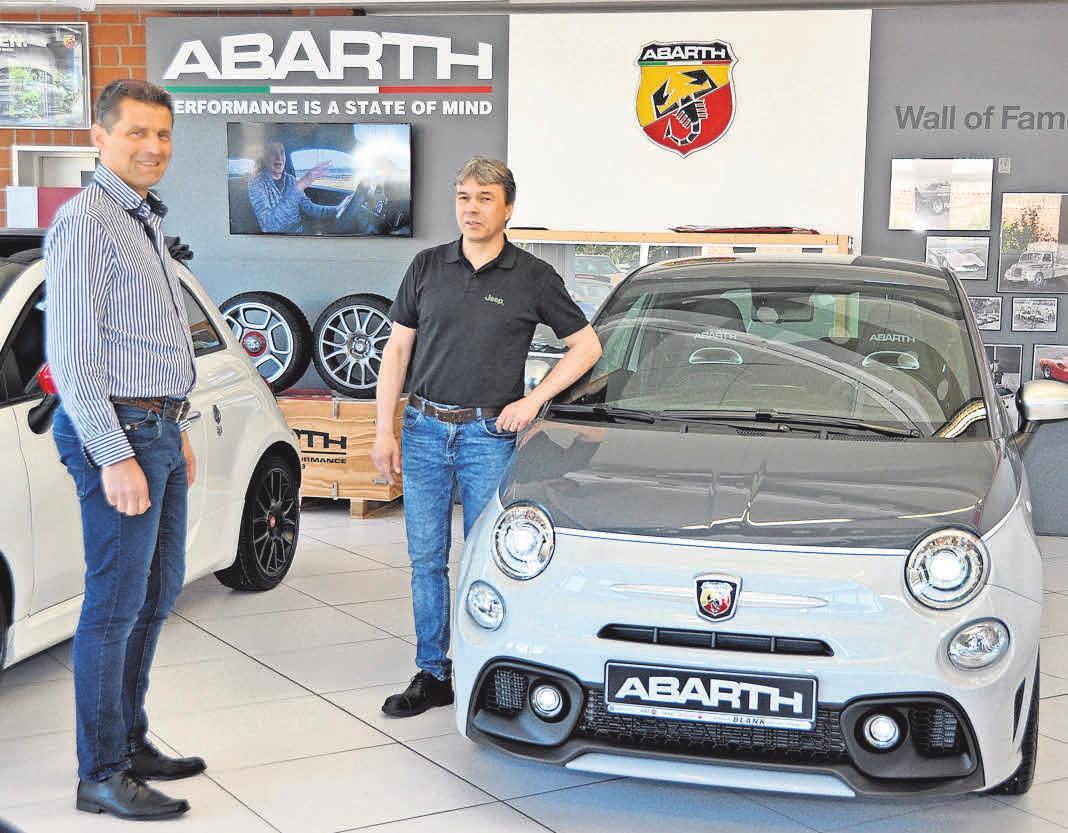 Andreas und Markus Blank leiten erfolgreich den gleichnamigen Familienbetrieb.