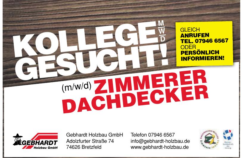 Gebhardt Holzbau GmbH