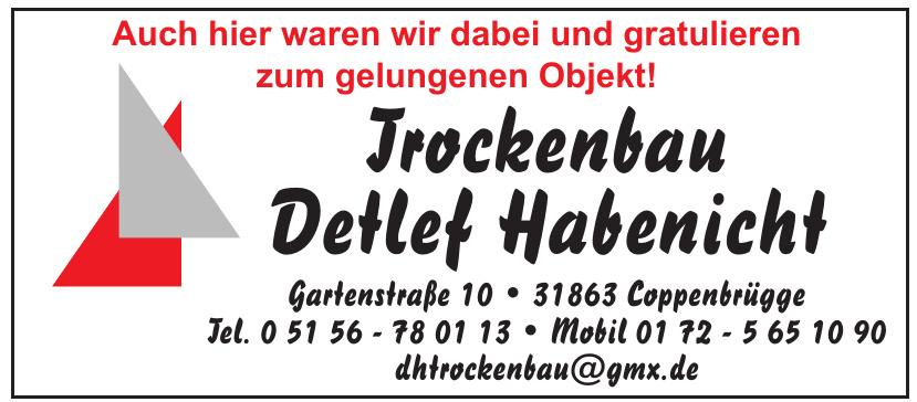 Trockenbau Detlef Habenicht