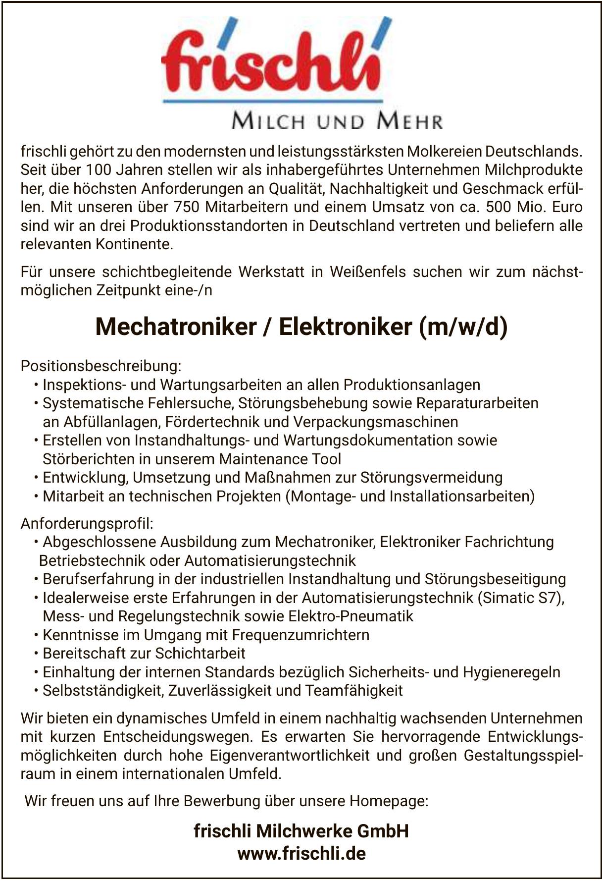 Milchwerke GmbH