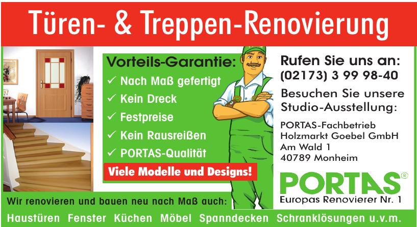 Portas - Holmarkt Goebel GmbH