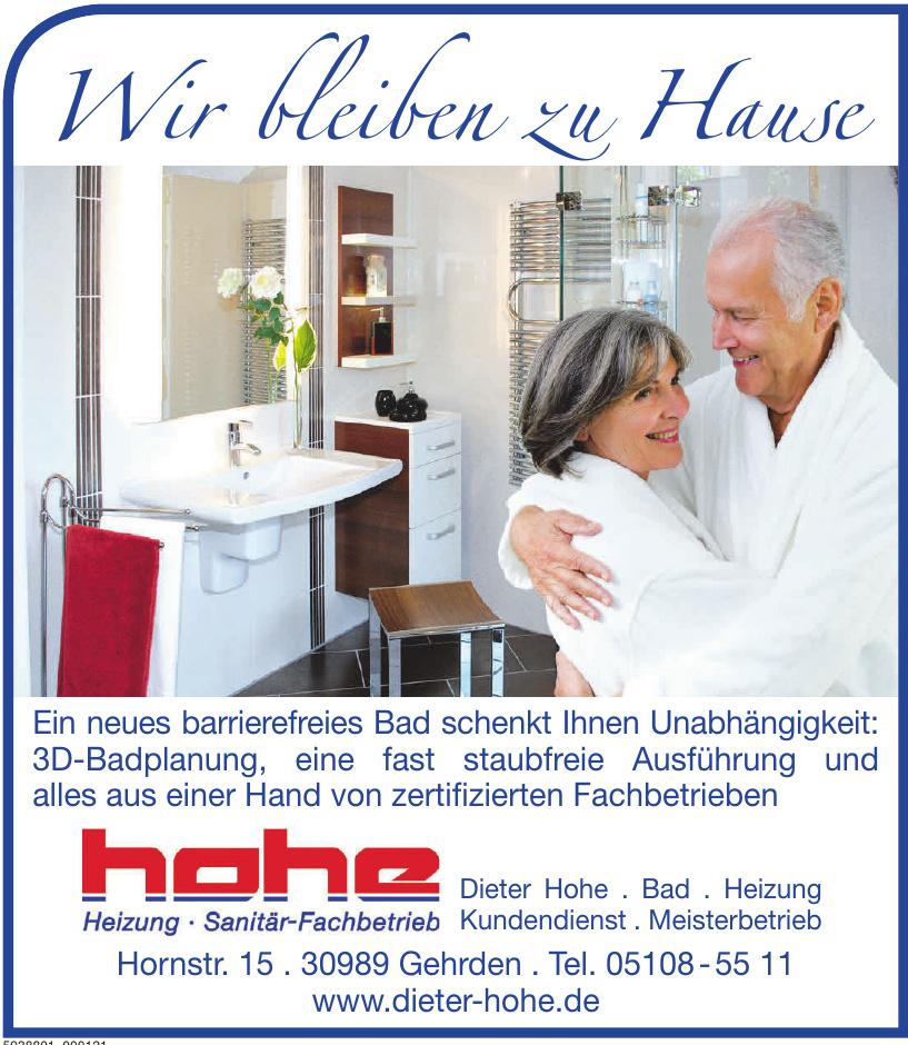 Dieter Hohe Meisterbetrieb
