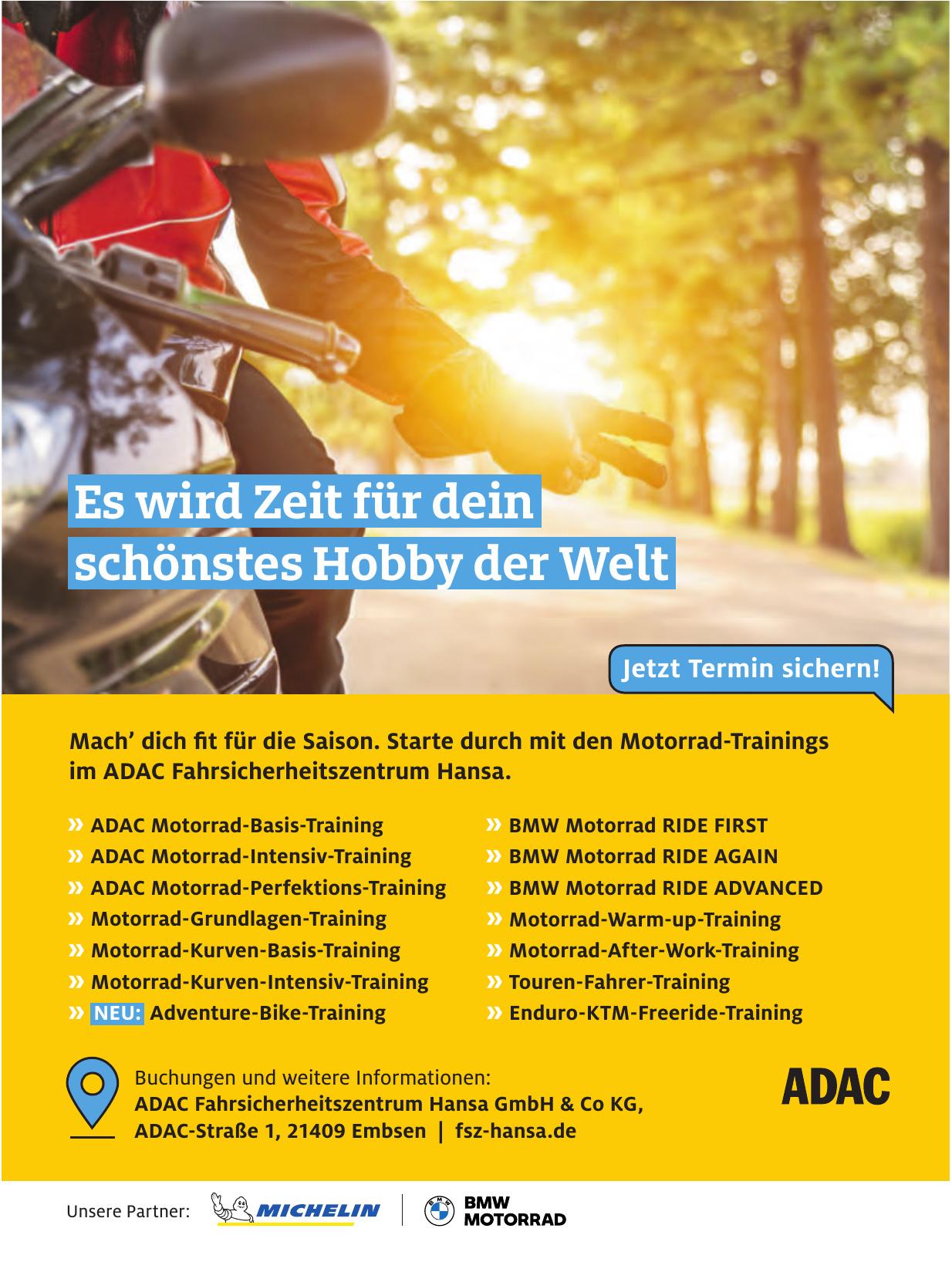 ADAC Fahrsicherheitszentrum Hansa GmbH & Co KG