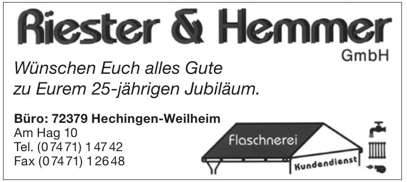 Riester & Hemmer GmbH