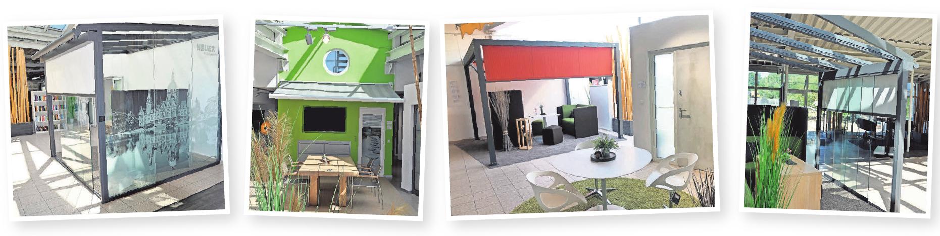 Die HEUER-Ausstellung hat für Kundinnen und Kunden viel zu bieten.