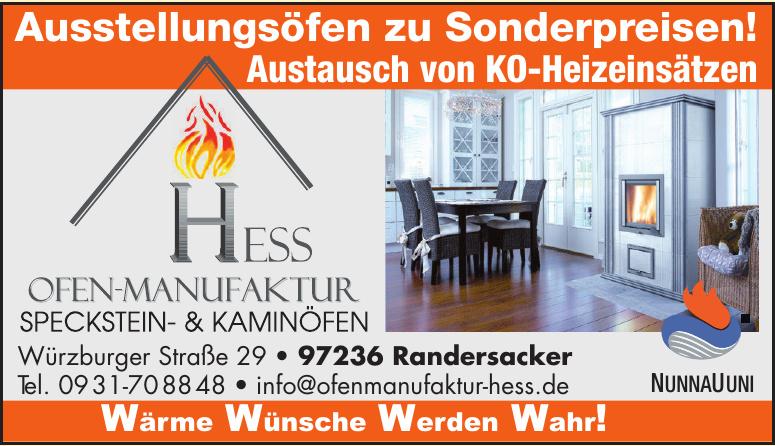 Hess Ofen-Manufaktur