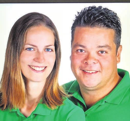 Geschäftsführer Christina Linke und Matthias Tajon.