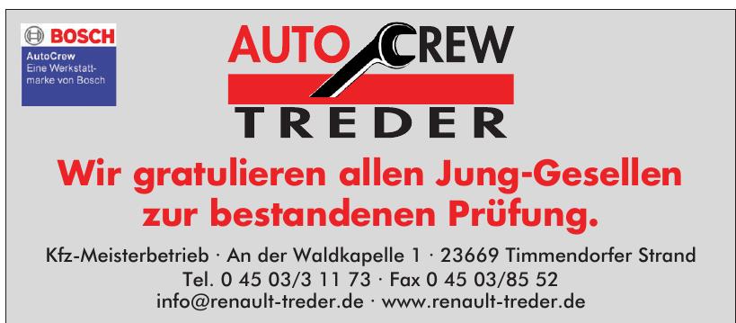 Auto Crew Treder
