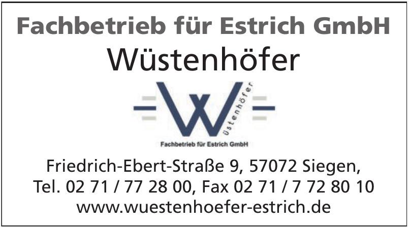 Fachbetrieb für Estrich GmbH