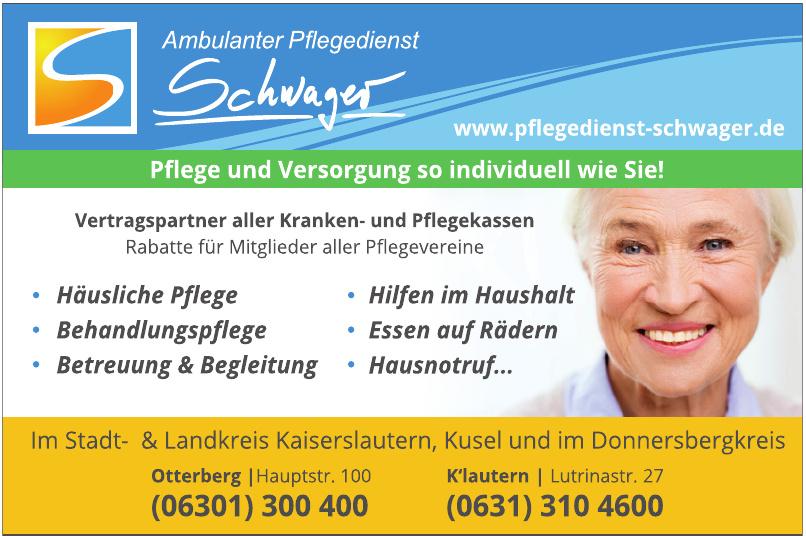 Ambulante Pflegedienst Schwager