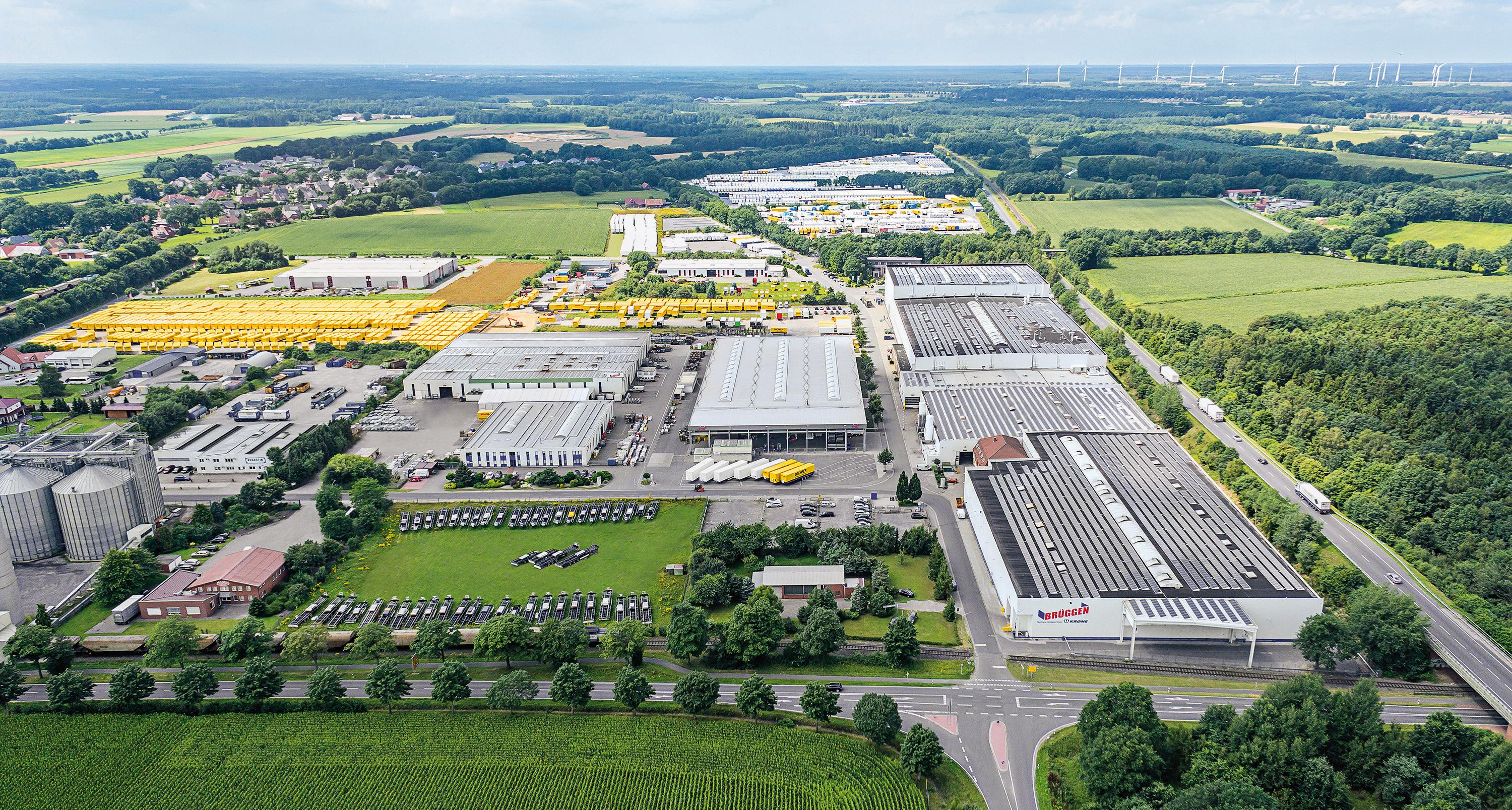 Krone invests in the Herzlake site.