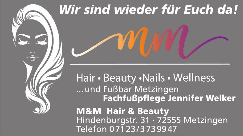 M&M Hair & Beauty