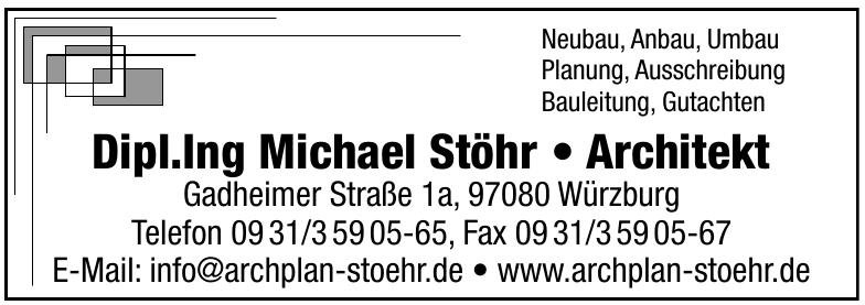 Dipl. Ing. Architekt Michael Stöhr