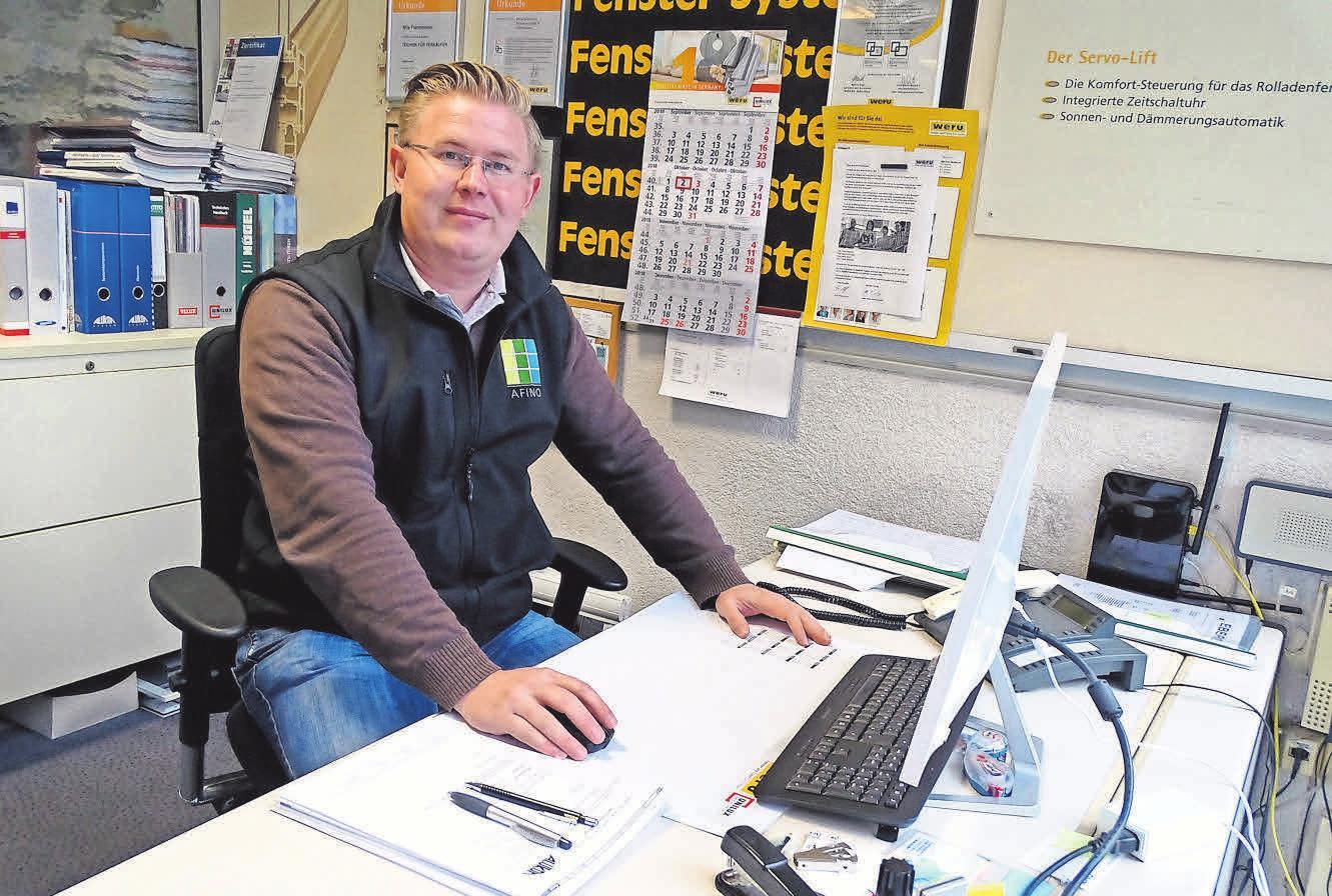 Tischlermeister Nils Fienemann von EBERST Bauelemente überzeugt mit Kompetenz und Erfahrung.